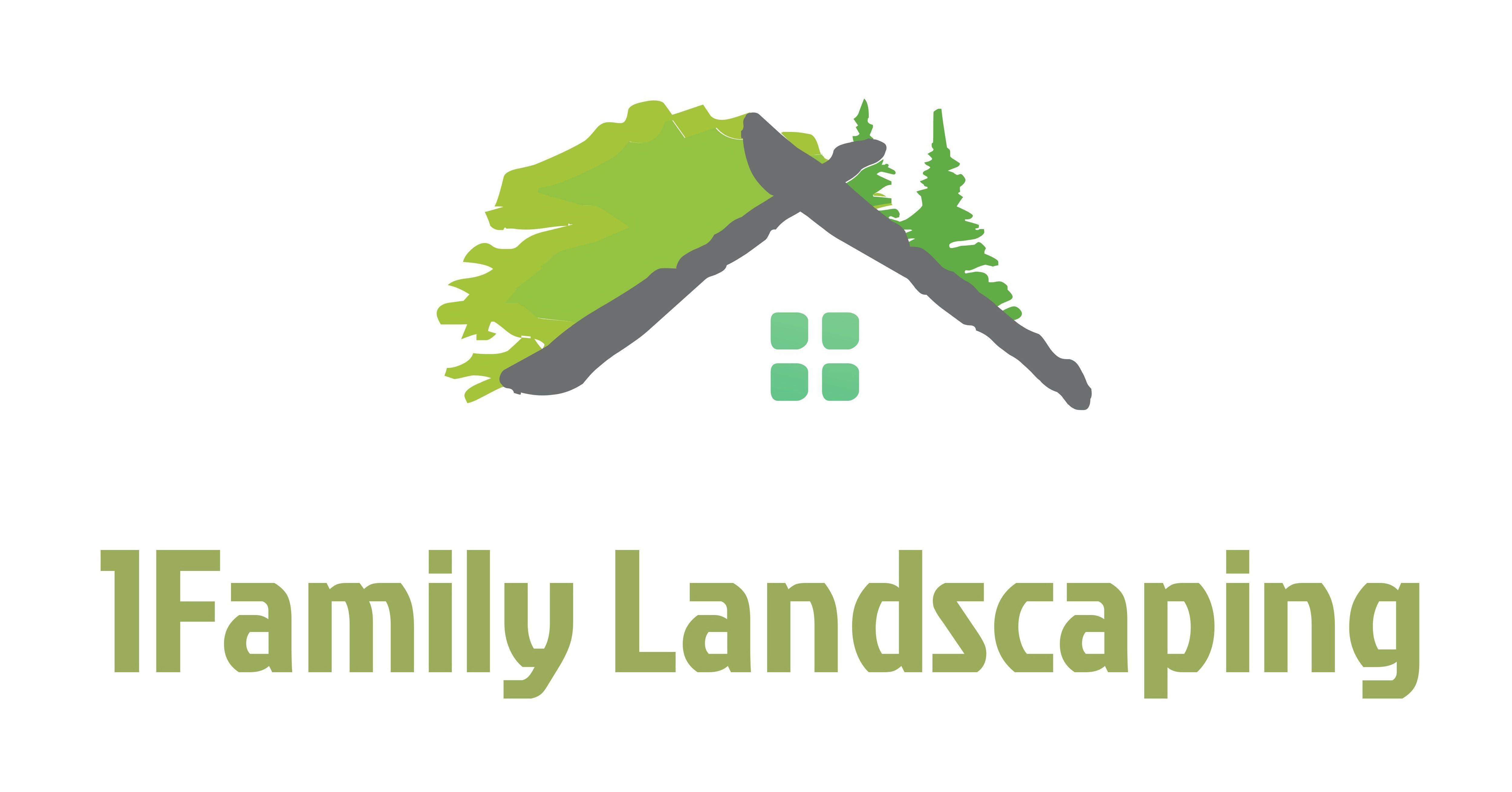 Trademark Logo 1FAMILY LANDSCAPING