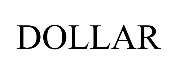Trademark Logo DOLLAR