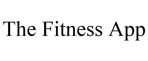 Trademark Logo THE FITNESS APP