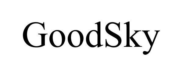 Trademark Logo GOODSKY