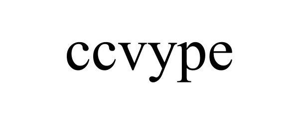 Trademark Logo CCVYPE
