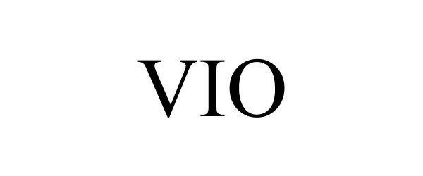 Trademark Logo VIO