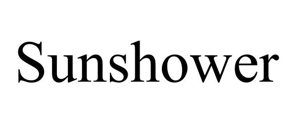 Trademark Logo SUNSHOWER