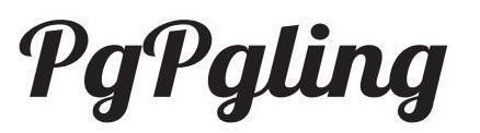 Trademark Logo PGPGLING