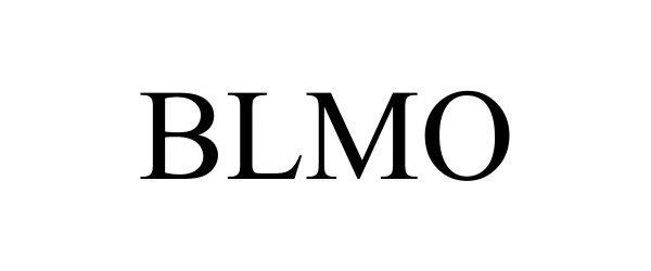Trademark Logo BLMO