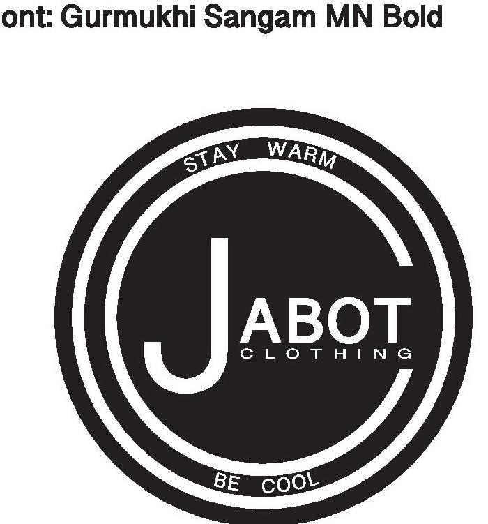 Trademark Logo CO JABOT STAYWARM BE COOL