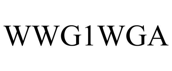 Trademark Logo WWG1WGA