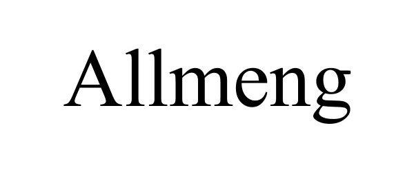 Trademark Logo ALLMENG