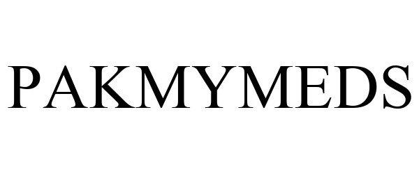 Trademark Logo PAKMYMEDS