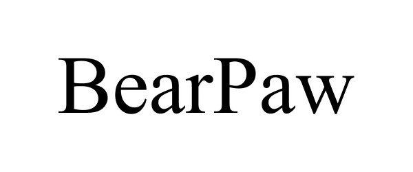 Trademark Logo BEARPAW