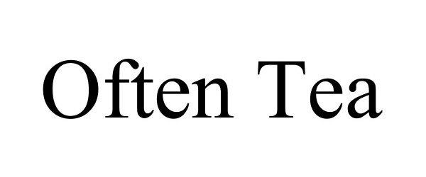 Trademark Logo OFTEN TEA