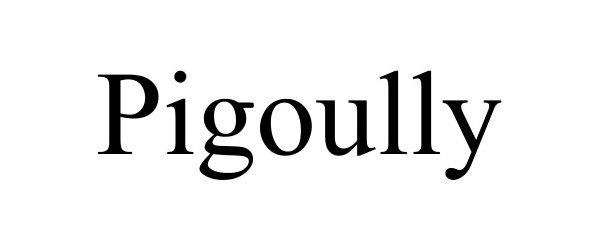 Trademark Logo PIGOULLY