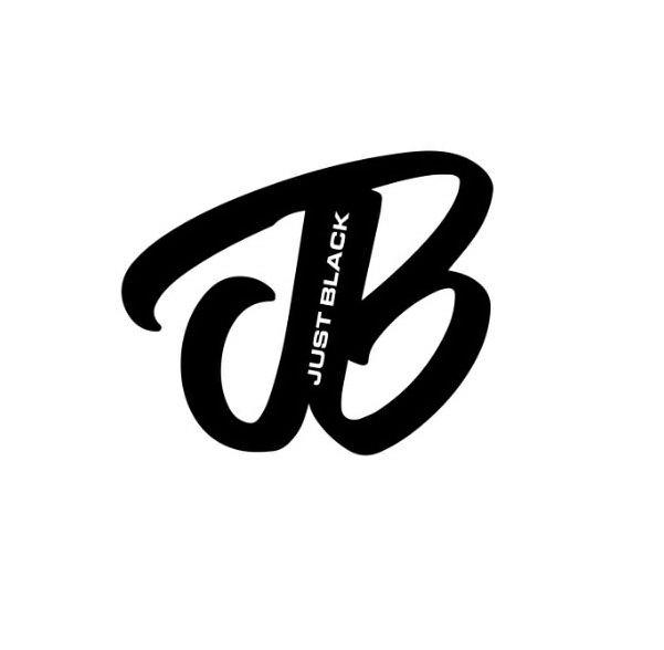 Trademark Logo JUST BLACK