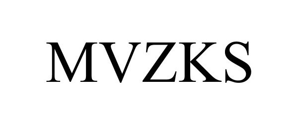 Trademark Logo MVZKS