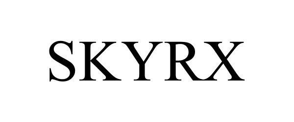 Trademark Logo SKYRX