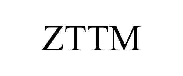 Trademark Logo ZTTM