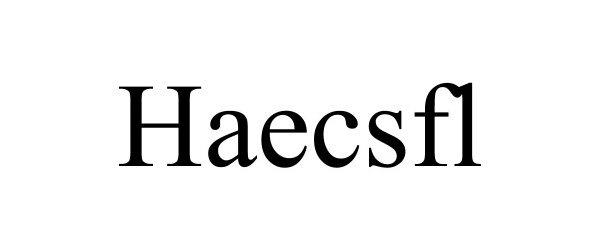 Trademark Logo HAECSFL