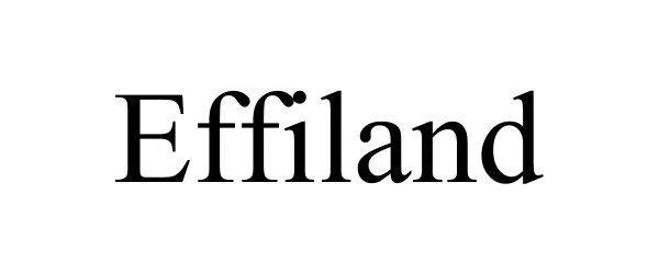 Trademark Logo EFFILAND