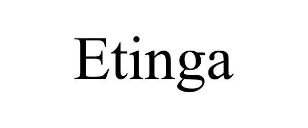 Trademark Logo ETINGA