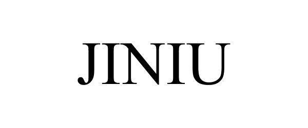 Trademark Logo JINIU