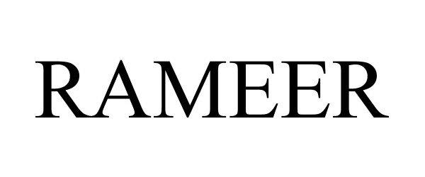 Trademark Logo RAMEER