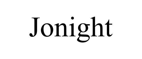 Trademark Logo JONIGHT
