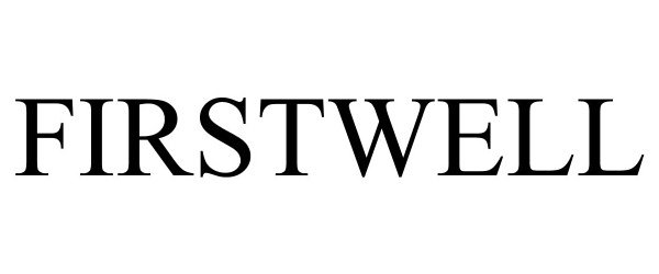 Trademark Logo FIRSTWELL