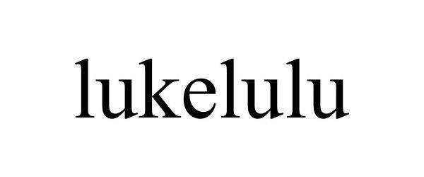 Trademark Logo LUKELULU