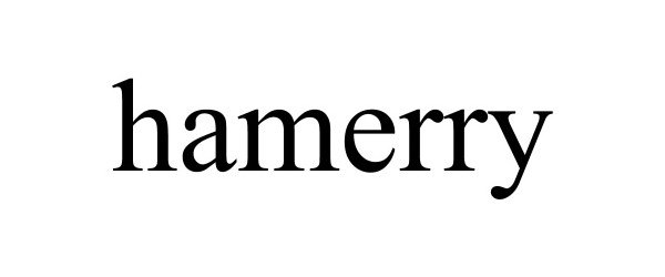 Trademark Logo HAMERRY