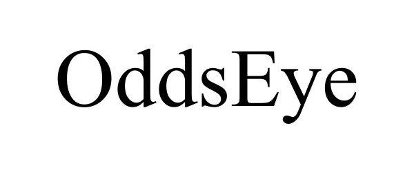 Trademark Logo ODDSEYE