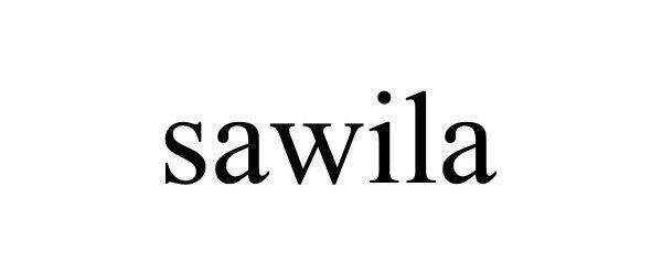 Trademark Logo SAWILA