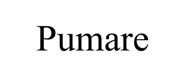 Trademark Logo PUMARE