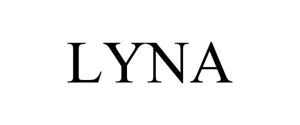 Trademark Logo LYNA