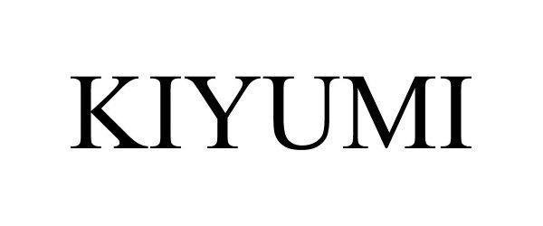 Trademark Logo KIYUMI