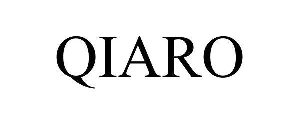 Trademark Logo QIARO
