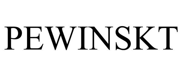 Trademark Logo PEWINSKT