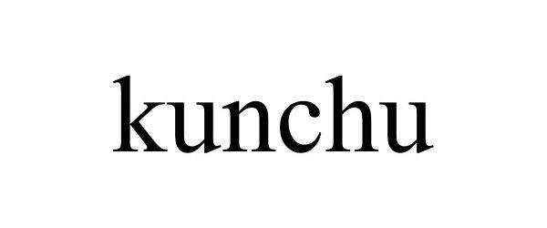 Trademark Logo KUNCHU