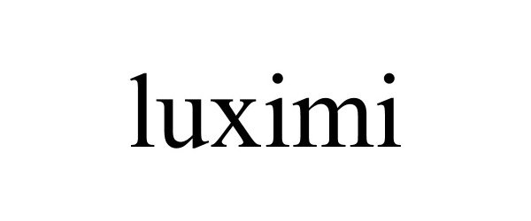 Trademark Logo LUXIMI