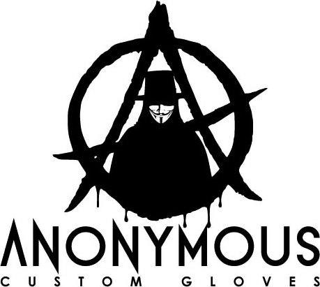 Trademark Logo ANONYMOUS CUSTOM GLOVES A