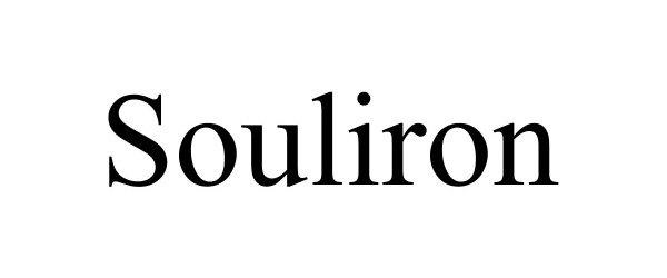 Trademark Logo SOULIRON