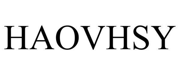 Trademark Logo HAOVHSY