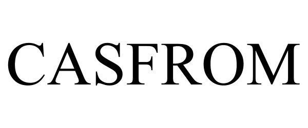 Trademark Logo CASFROM