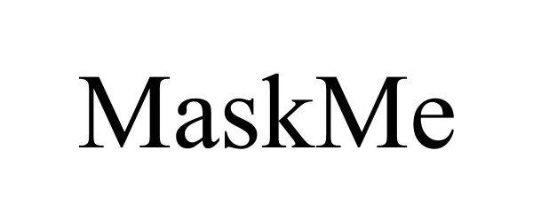 Trademark Logo MASKME