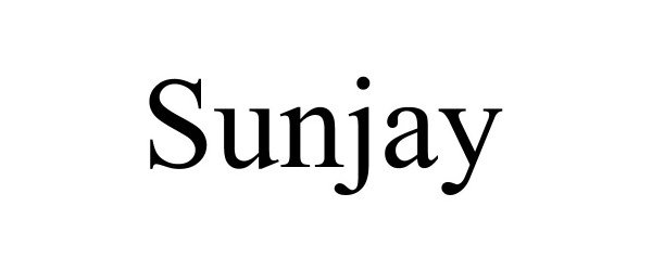 Trademark Logo SUNJAY