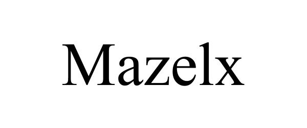 Trademark Logo MAZELX