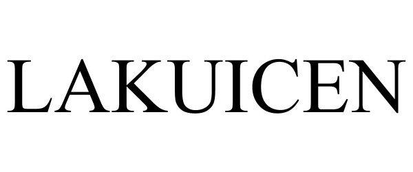 Trademark Logo LAKUICEN