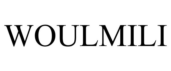 Trademark Logo WOULMILI