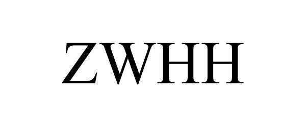 Trademark Logo ZWHH