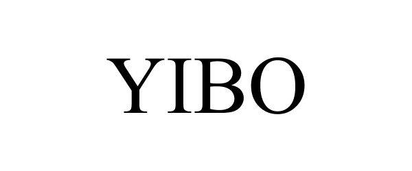 Trademark Logo YIBO