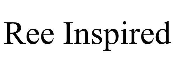 Trademark Logo REE INSPIRED
